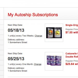 My Subscriptions Page - Self-service Subscription Management