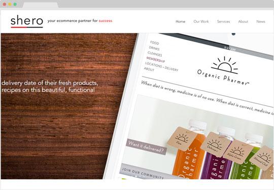 Screenshot Shero Designs